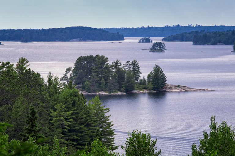 Stunning scenery makes Voyagers one of the most beautiful national parks in the Midwest.