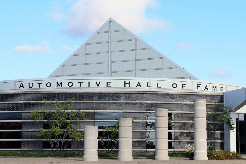 The Automotive Hall of Fame in Detroit one of the best national parks in Michigan