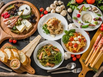 A large selection of Italian food restaurants in Cincinnati