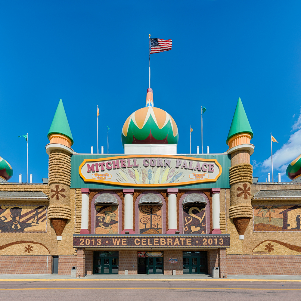 Mitchell Corn Palace is a unique South Dakota attraction.