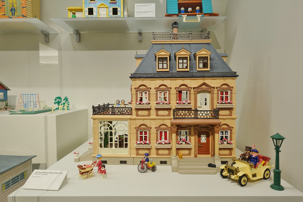 A toy house at the National Museum of Toys and Miniatures.